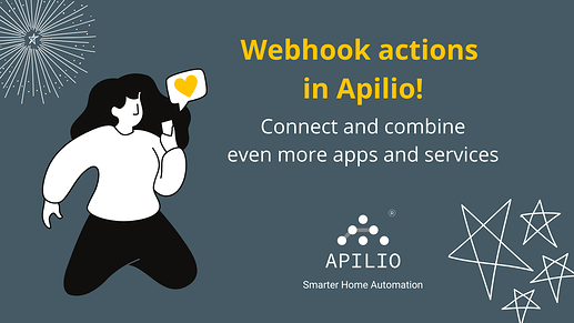 Webhook actions in Apilio HTTP actions